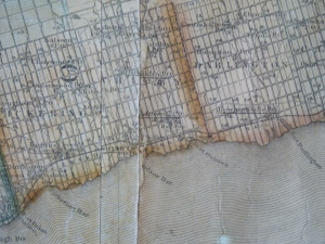 Detail of the Tackabury Map - Can you see Port Oshawa?