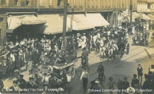 The Conservative Demonstration, 1911; from the Oshawa Community Archives Collection