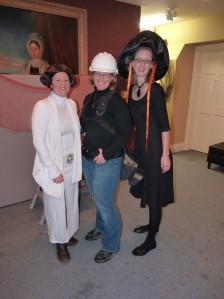 Melissa, Jenn & Jill, Halloween 2012